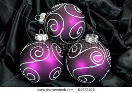 Image result for purple christmas balls