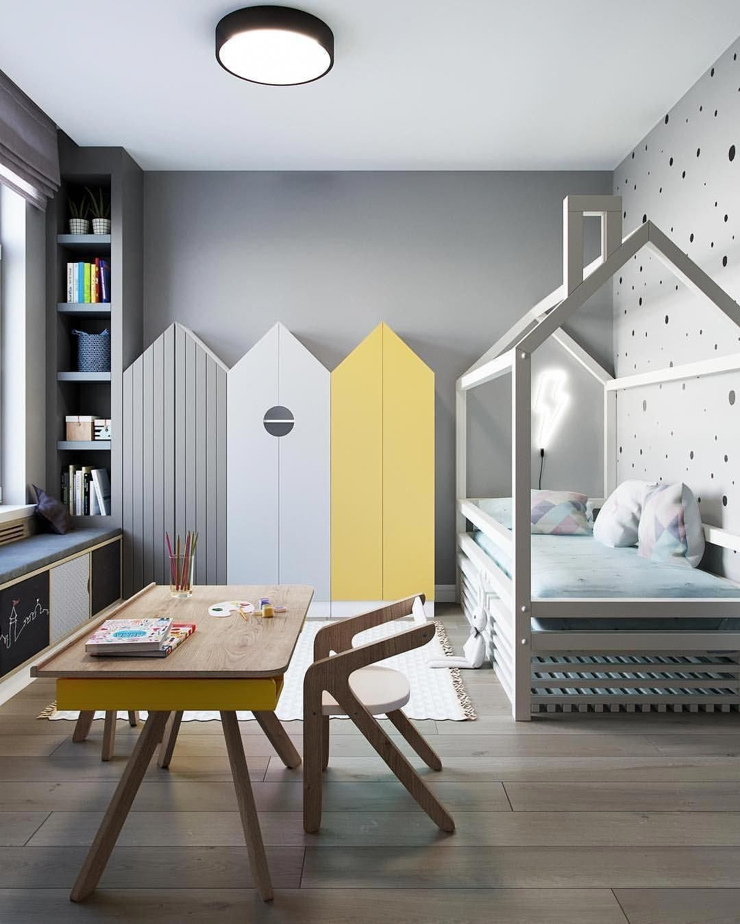 55 Crazy And Best Renovation Ideas for Your Child's Bedroom to Make It More Comfortable #childroom
