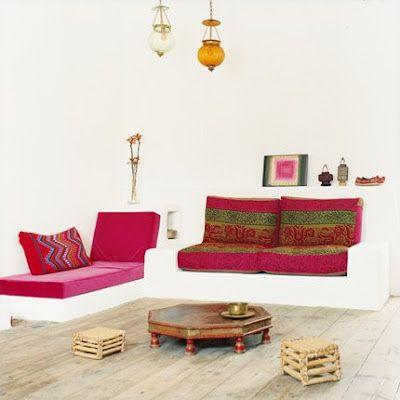 Decorar una Sala Sencilla nuevohogar Pinterest - moderne marokkanische wohnzimmer