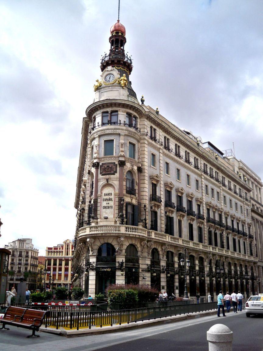 Victorian architecture Madrid Spain