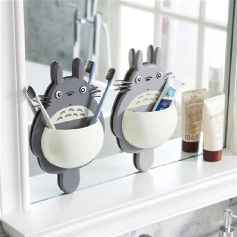 1pcs Toothbrush Wall Mount Holder Cute
