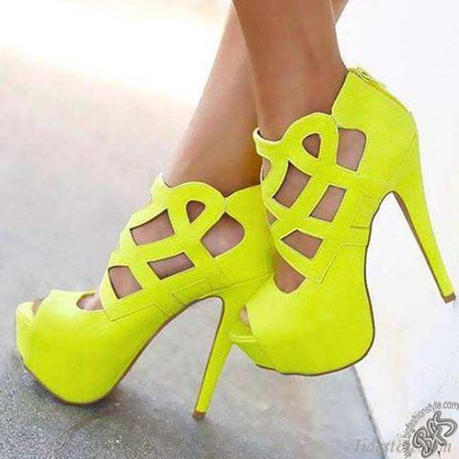 Brilliant and Looking Good ♥♥♥ Yellow Shoes