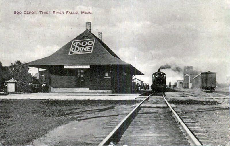 Original minneapolis st paul sault ste marie soo for Northern motors inc thief river falls mn