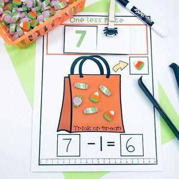 Halloween Erasers Self-Correcting Math Activities ...