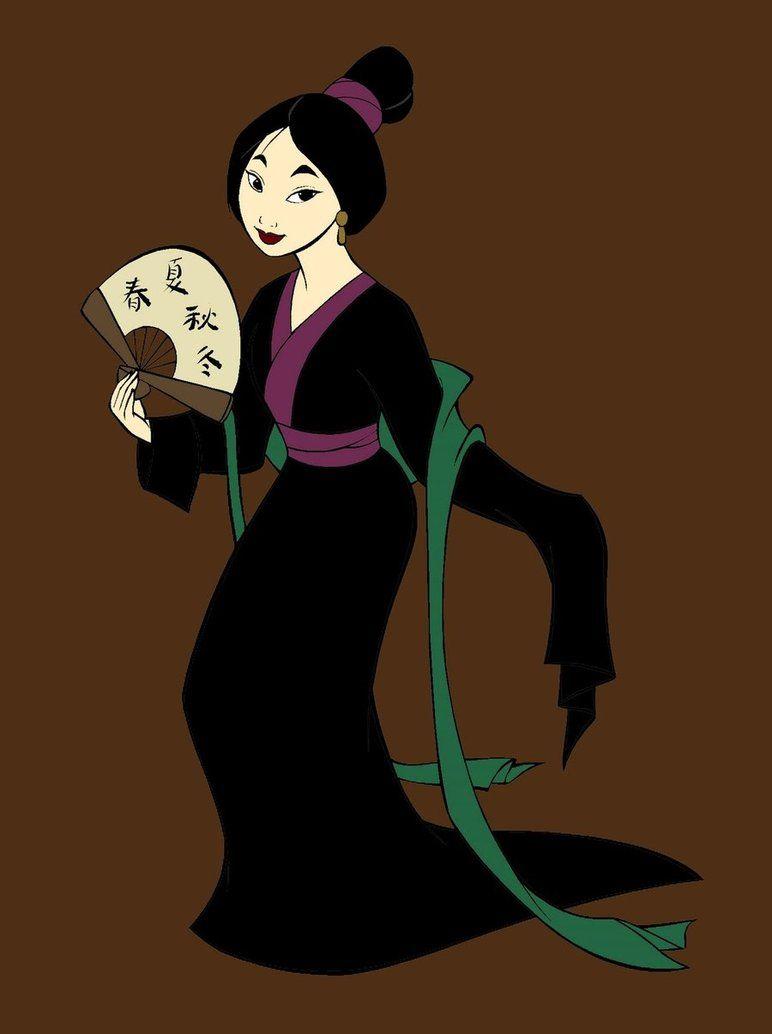Mulan by cdreaiton on deviantart mulan disney cartoons
