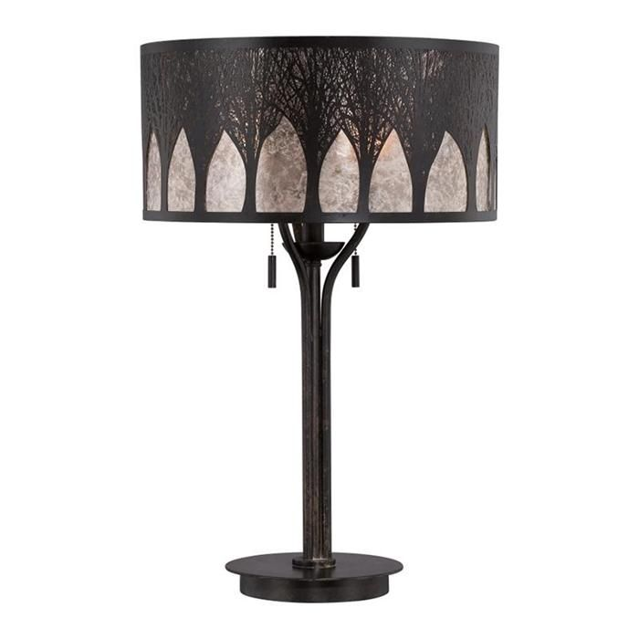 Mica vega table lamp and shade in imperial bronze nebraska furniture mart