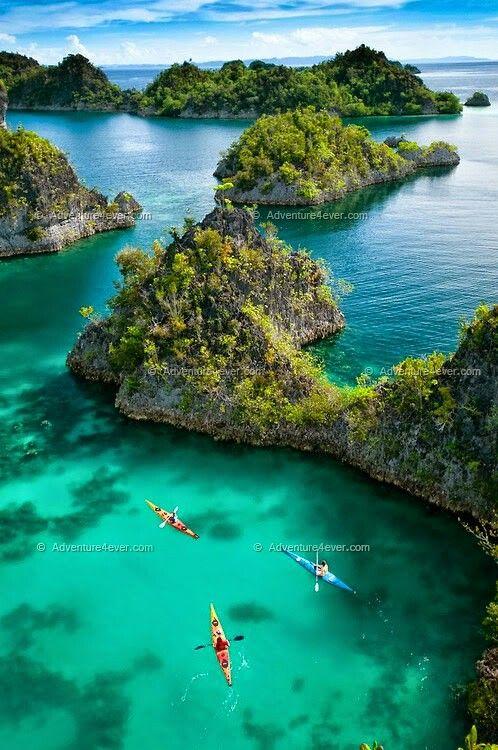 West Papua Indonesia Pemandangan Fotografi Pemandangan Pantai