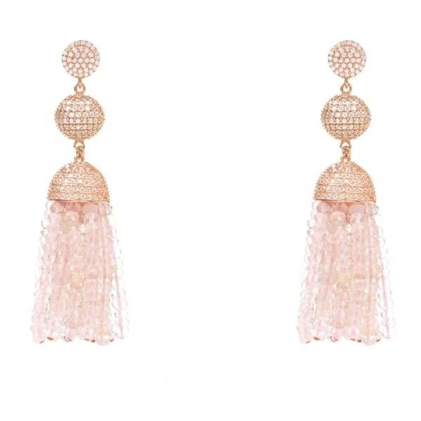 Latelita London Tassel Ball Earring Ruby aZQrH