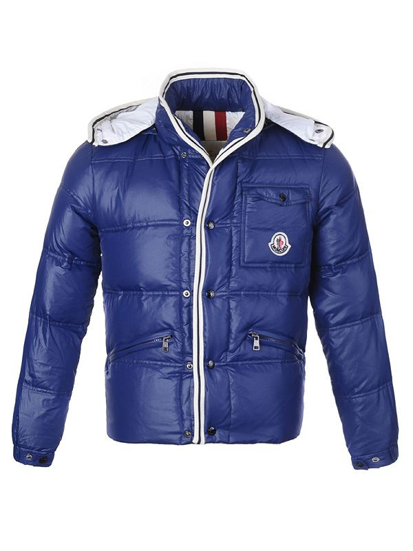 High fashion Moncler Men Branson Blue Jacket Just $249 CLICK