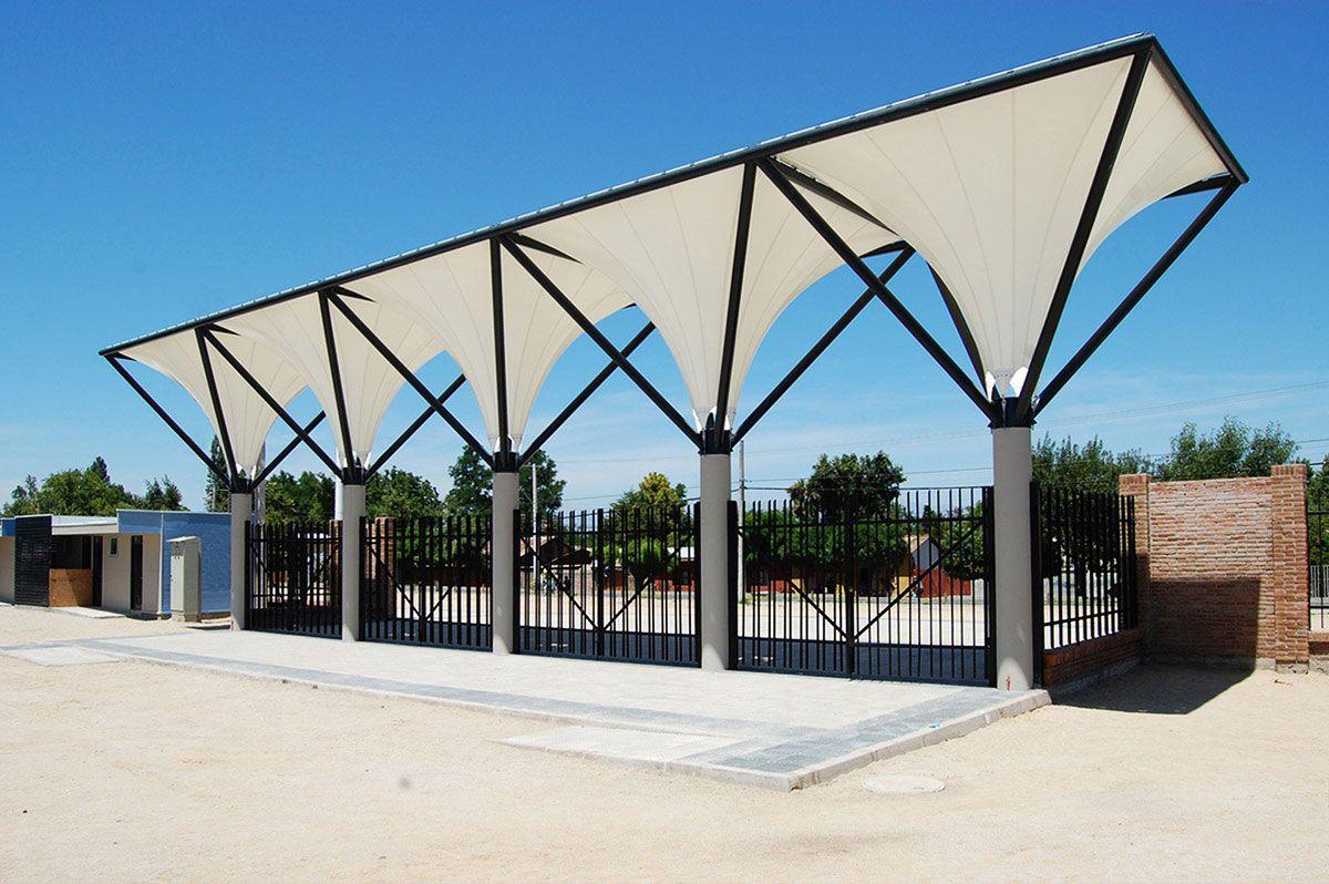 Tensoestructuras arquitectura textil cubiertas tensadas for Estructura arquitectura