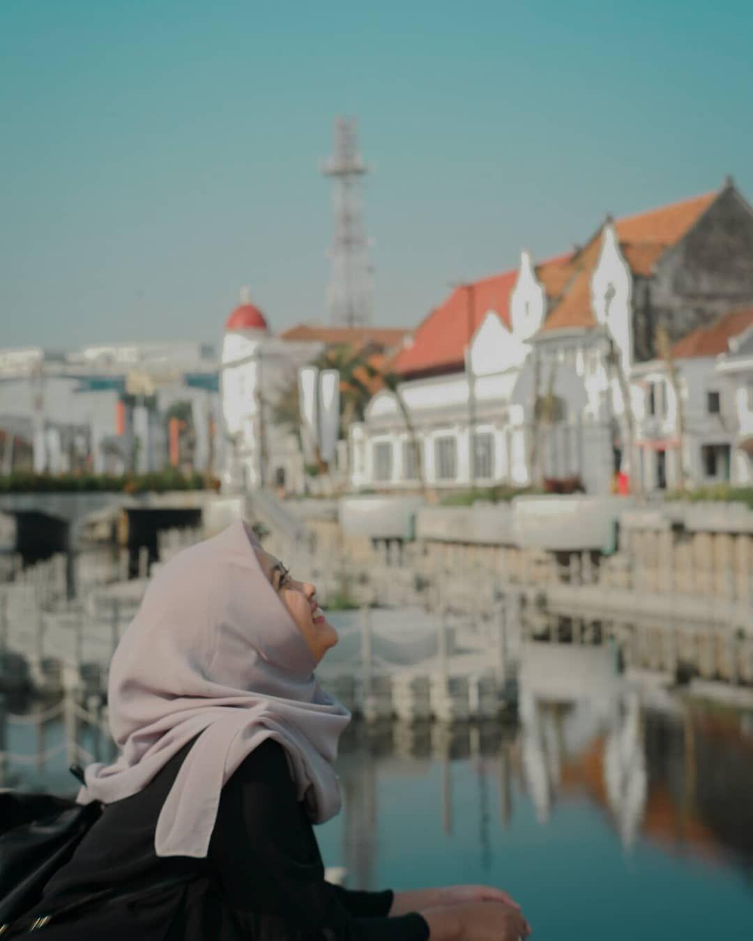 Spot foto di wisata Kota Tua Jakarta #kotatuajakarta #spotfoto