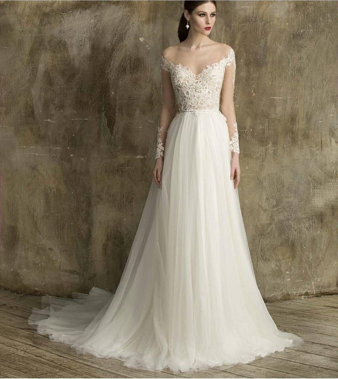 Semi formal dresses for wedding reception  Sheath  Column Plunging Neckline Sweep  Brush Train Lace Wedding