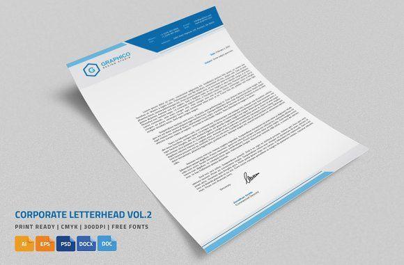 ms word letterheads