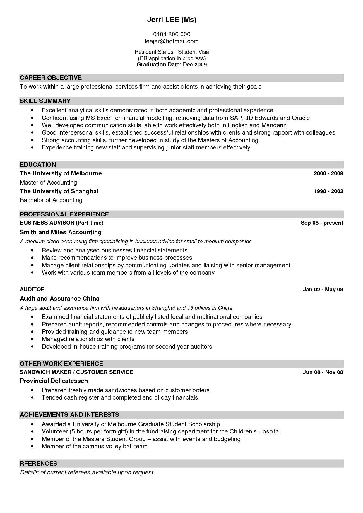Best Resume Examples 85