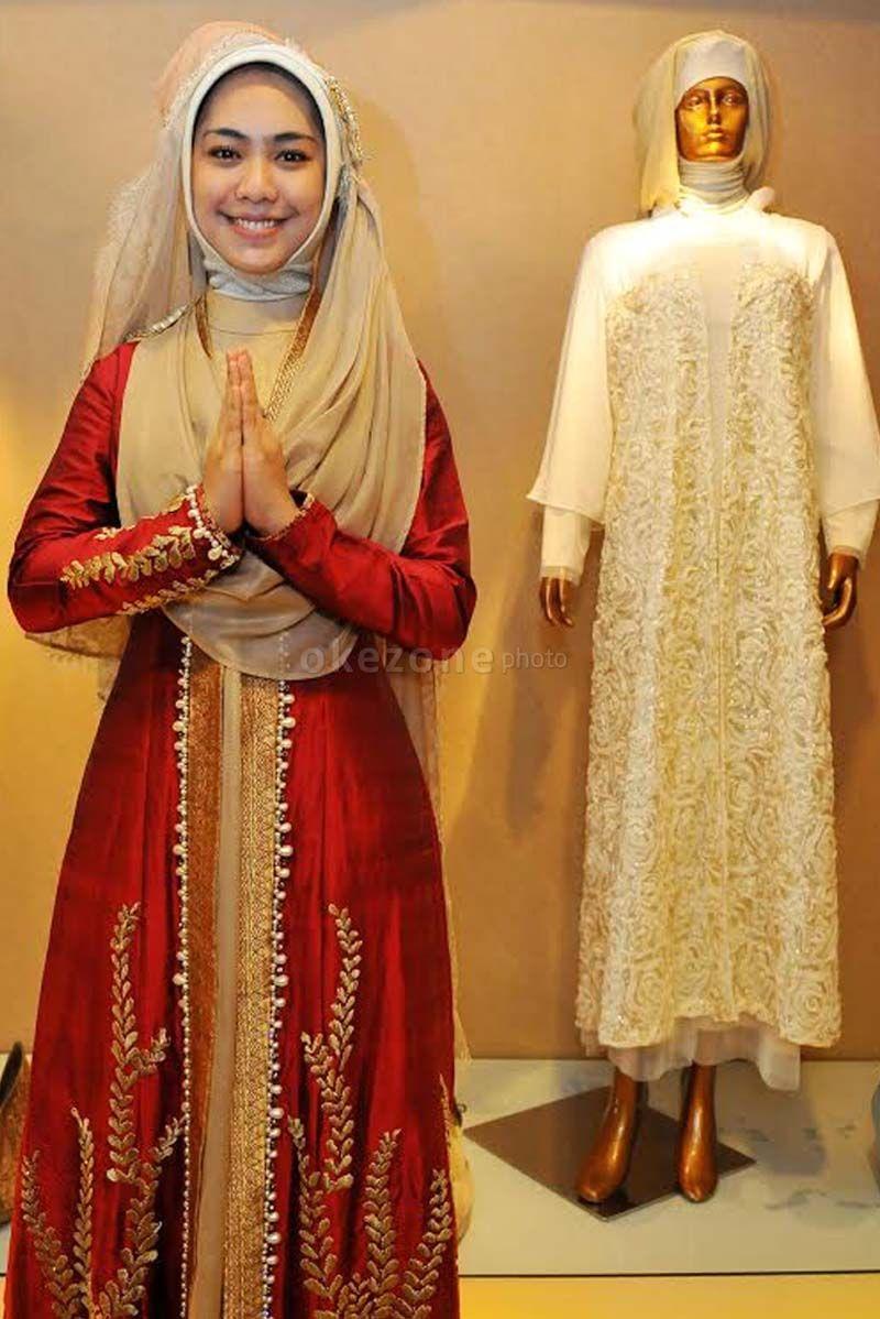 Jilbab Pengantin Oki Setiana Dewi Google Search Hijab Bride