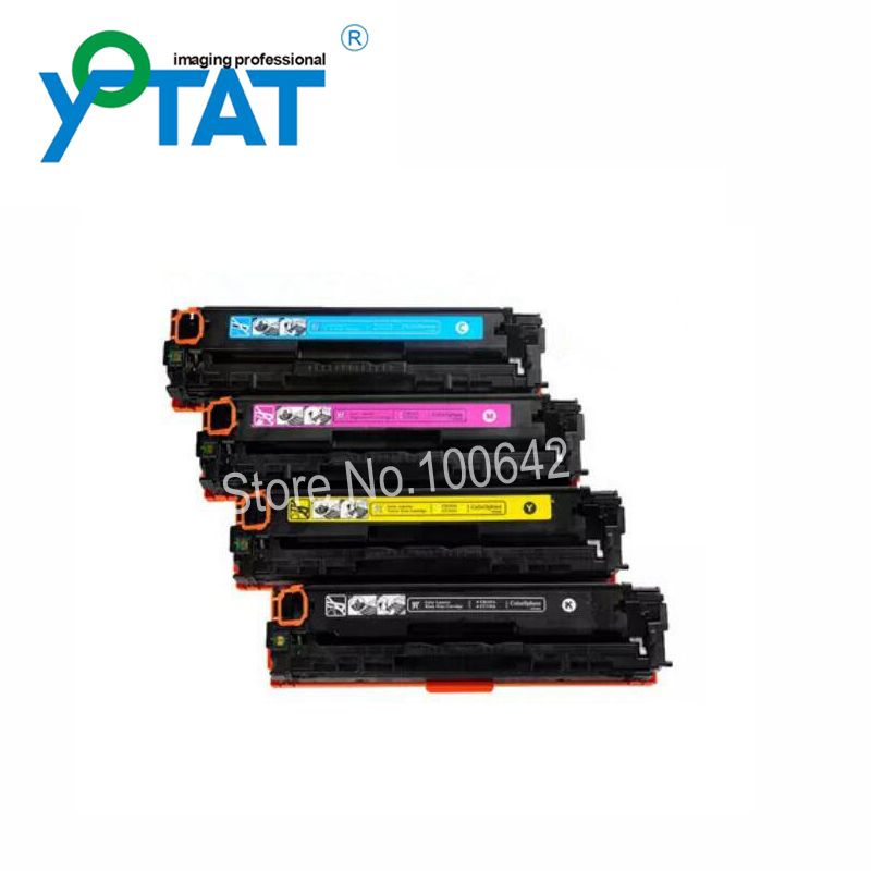 Compatible Toner Cartridge Ce410a Ce411a Ce412a Ce413a For Hp Laserjet Pro 300 400 M375nw M451dw M451dn M451nw Toner Cartridge Toner Office And School Supplies