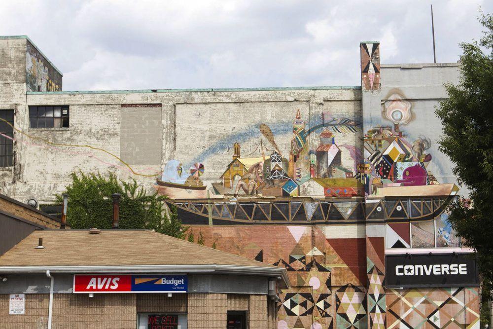 Joe Difazio For Wbur Public Art Art Graffiti