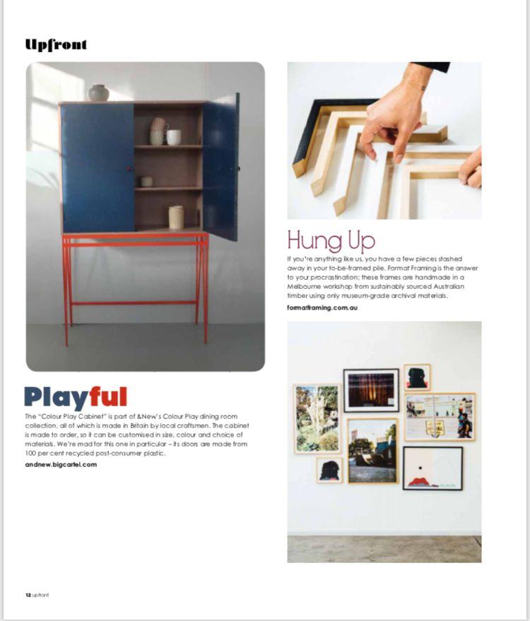 Press / &New - Modern British Furniture