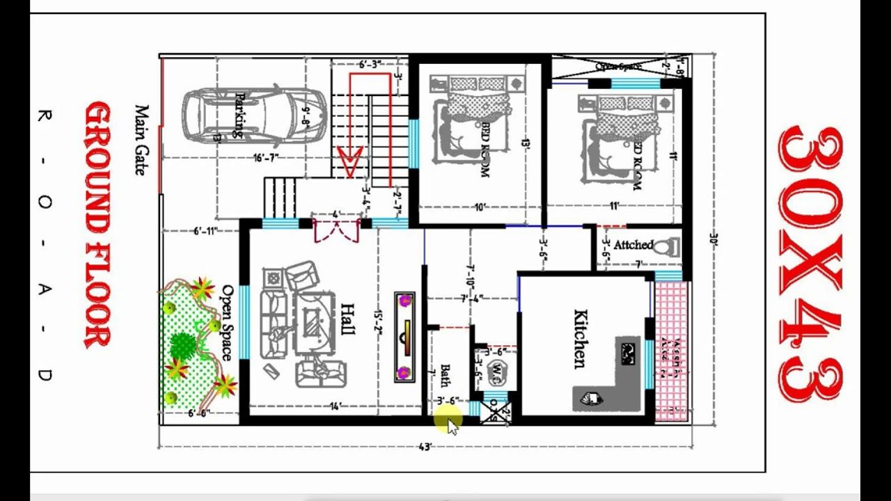 25x30 House Plan Elevation 3d View 3d Elevation House Elevation Glory Architecture 20x30 House Plans 2bhk House Plan My House Plans