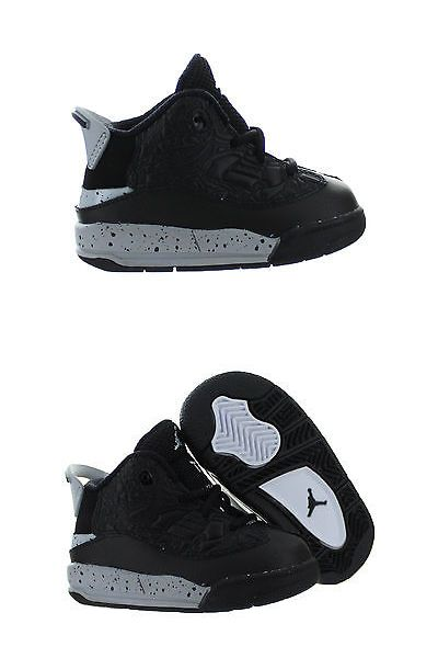 Kids Air Jordan Dub Zero TD  Black//Cement  311072-002 TODDLERS