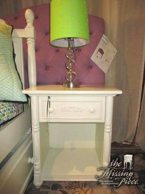 Cafe Kid Nightstand In Cream There Is, Cafe Kid Furniture