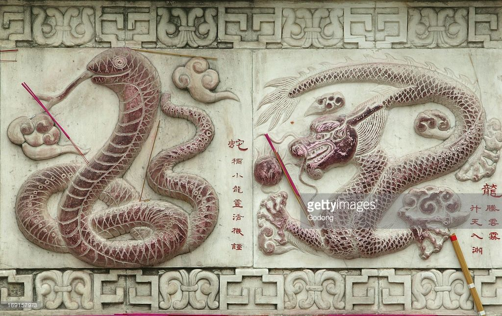 Chinese astrological signs. White cloud temple