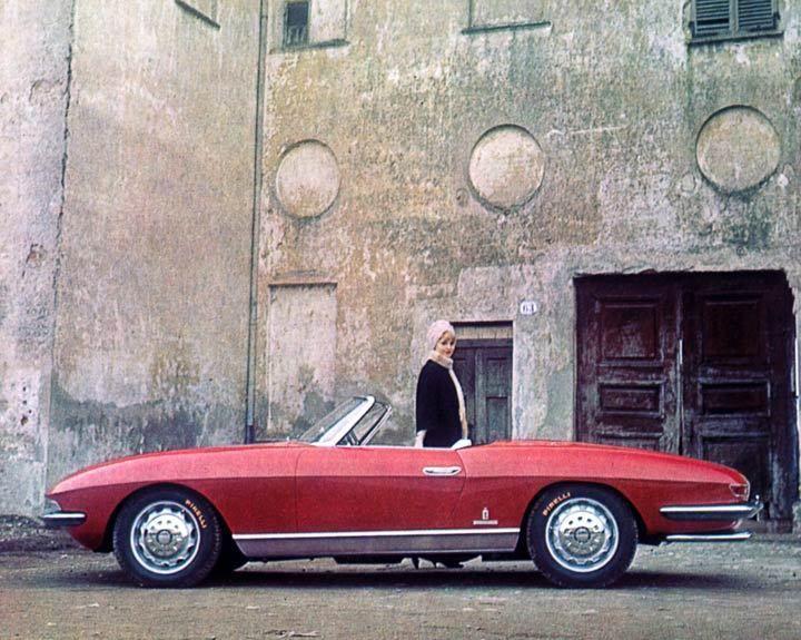 1962 Alfa Romeo 2600 Spider Speciale Pininfarina Illustrati