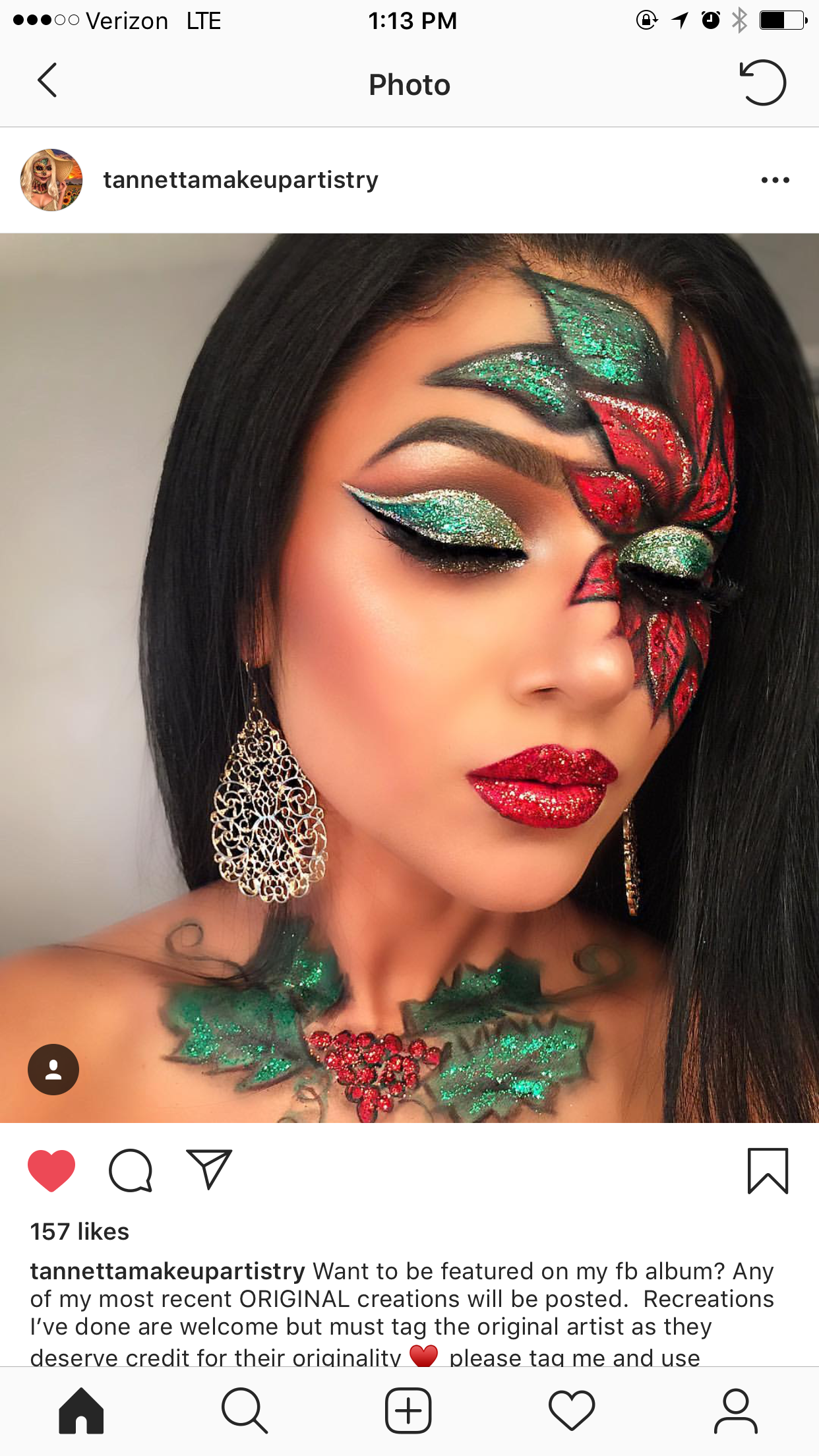 Pin by Kristin Sohl on Christmas Makeup Looks (With images