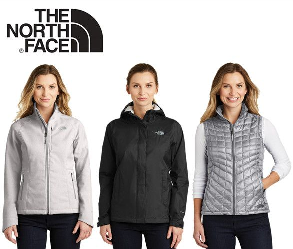 New Corporate Jackets and Vests for Women from The North Face