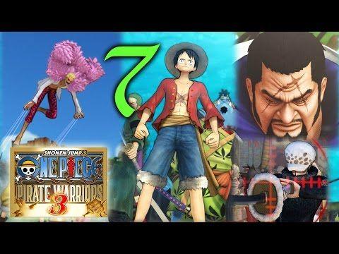 One Piece Pirate Warriors 3 - Calaveras y cerezos - Cap2 Ep1 - http://www.nopasc.org/one-piece-pirate-warriors-3-calaveras-y-cerezos-cap2-ep1/