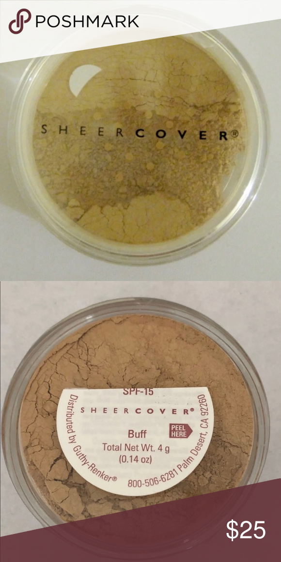 Sheer Cover Mineral Foundation Buff 4 gram Sheer Cover