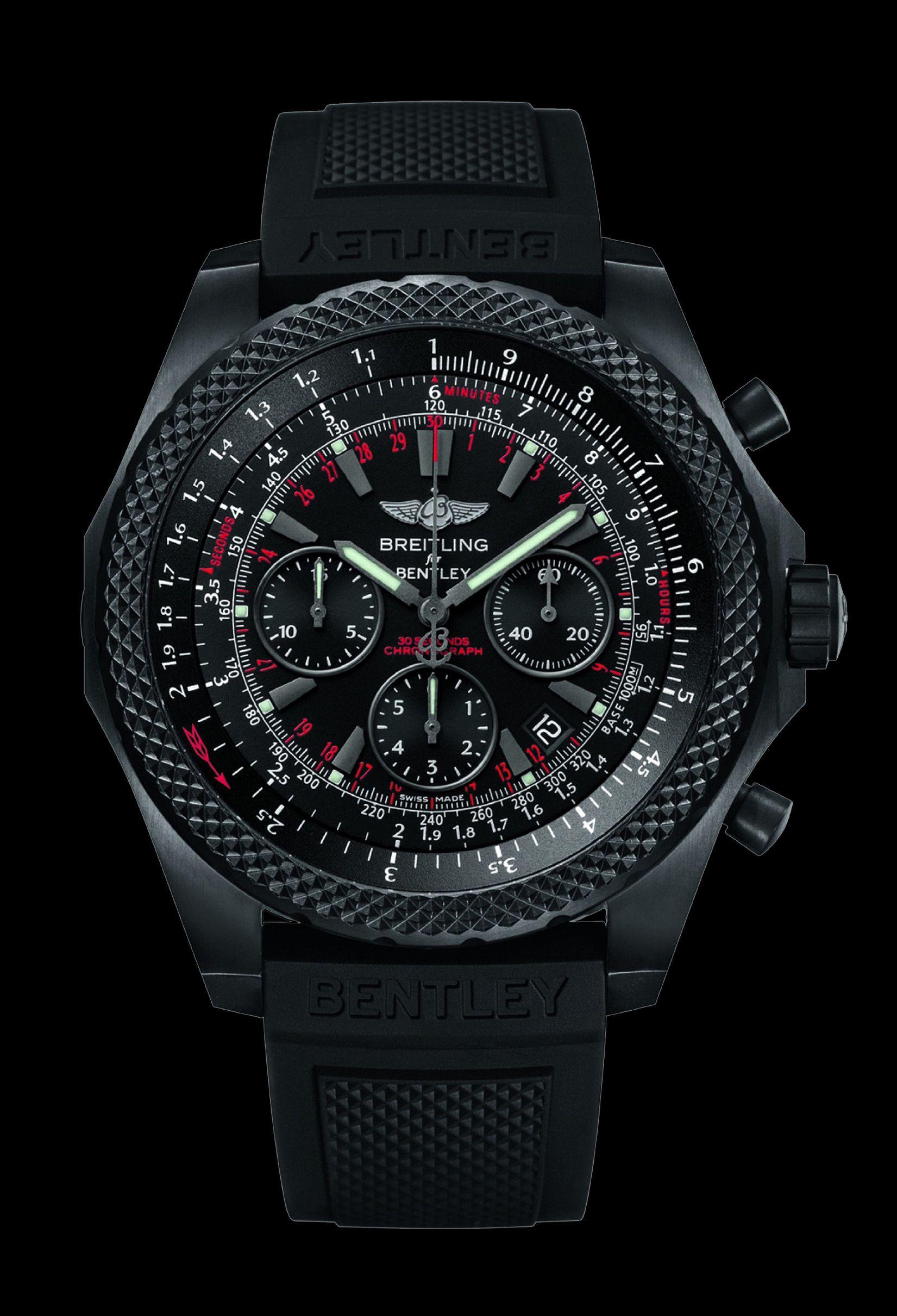 907ac323a2d Bentley Light Body Midnight carbon relógio por Breitling