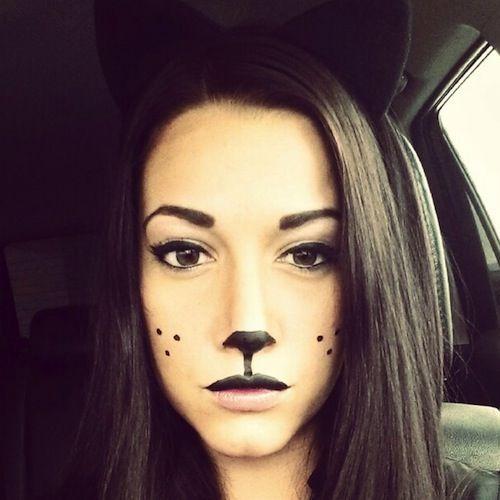 6 Non Toxic Easy Halloween Makeup Ideas Bunny Halloween Makeup White Rabbit Makeup Bunny Makeup