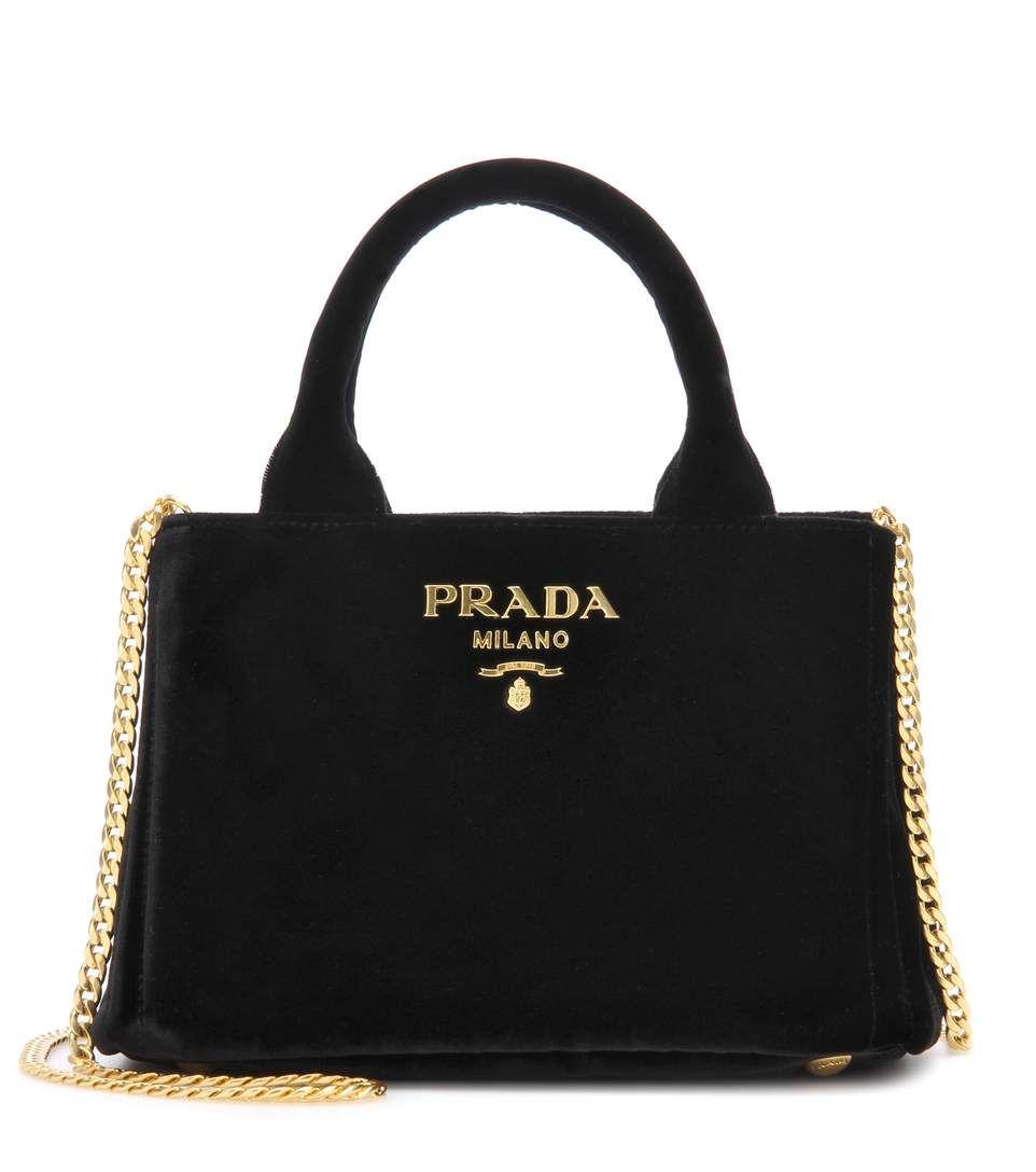 0595c2b9b9bf PRADA Velvet Tote.  prada  bags  shoulder bags  hand bags  velvet  tote   lining