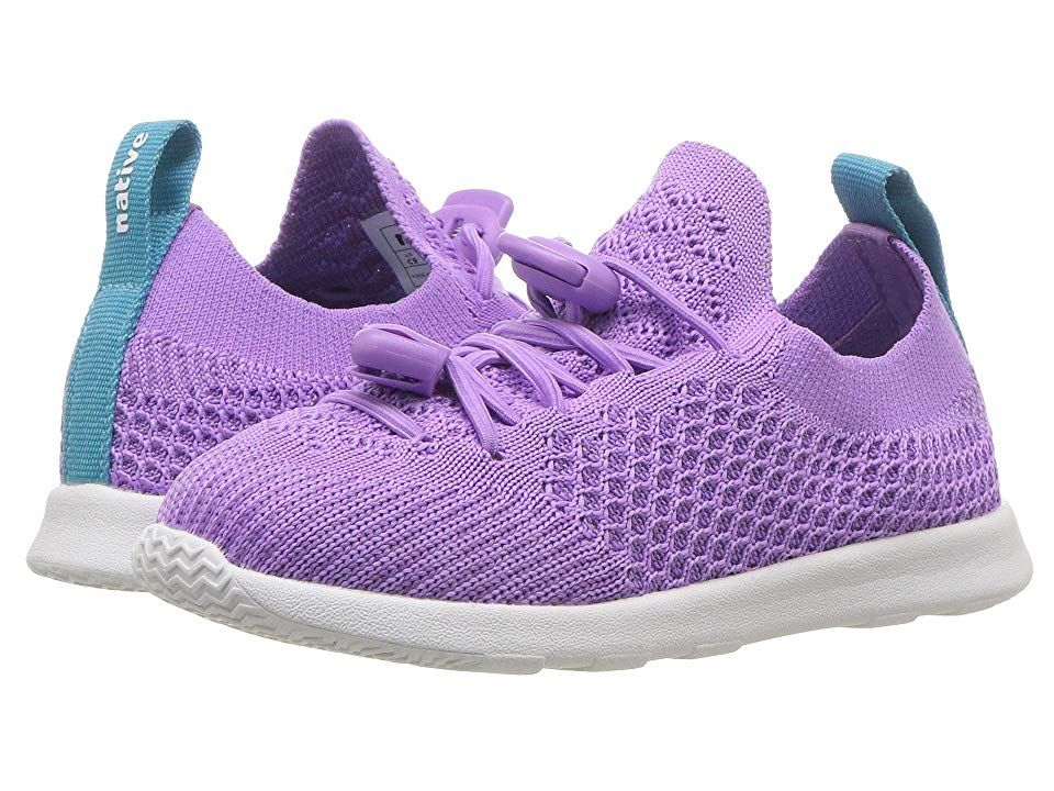 41bbe3160c Native Kids Shoes AP Mercury Liteknit (Toddler Little Kid) (Lavender  Purple Shell White) Kids Shoes. Get ready to try on one of the lightest  pairs of shoes ...