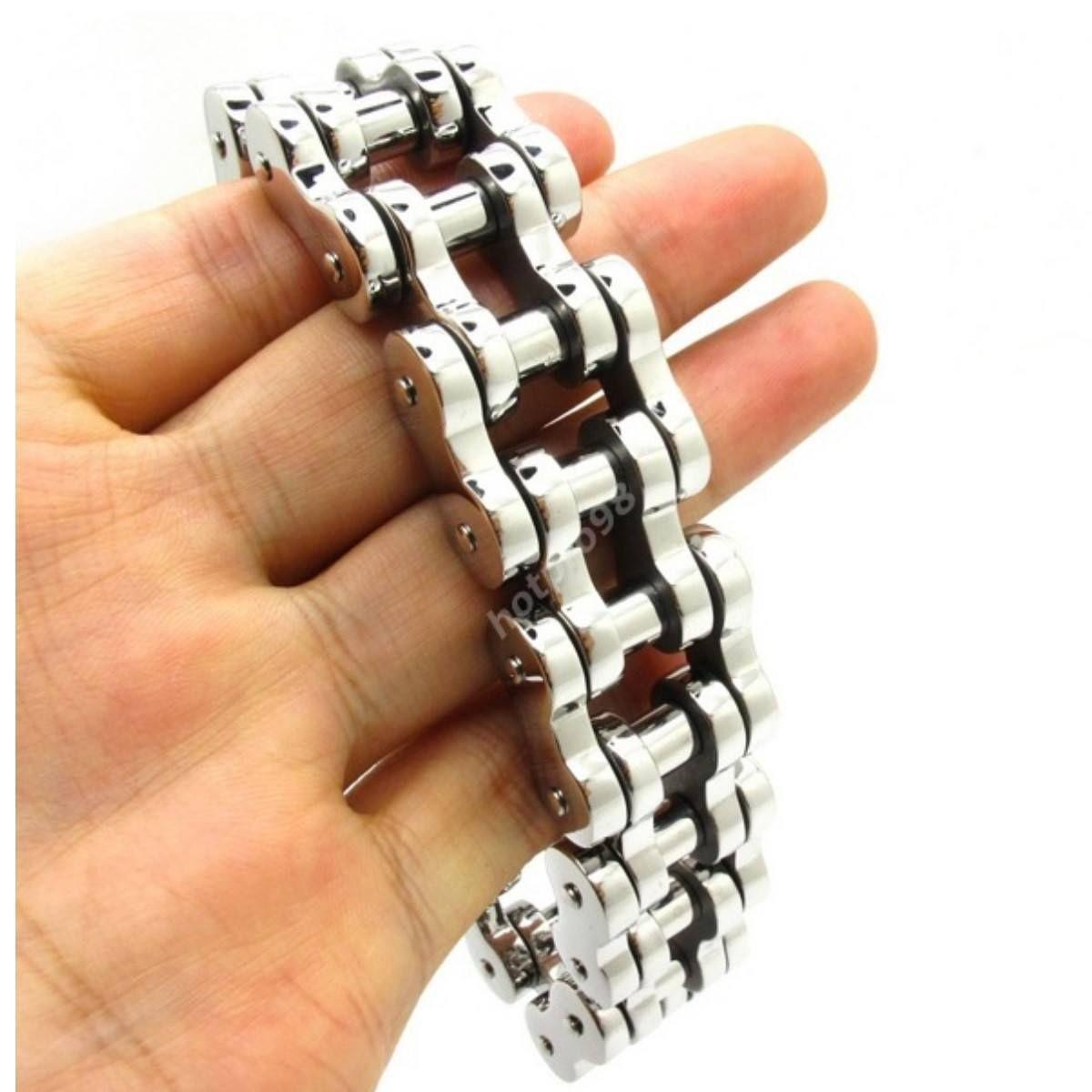 Motorbike Chain Bracelet - Large