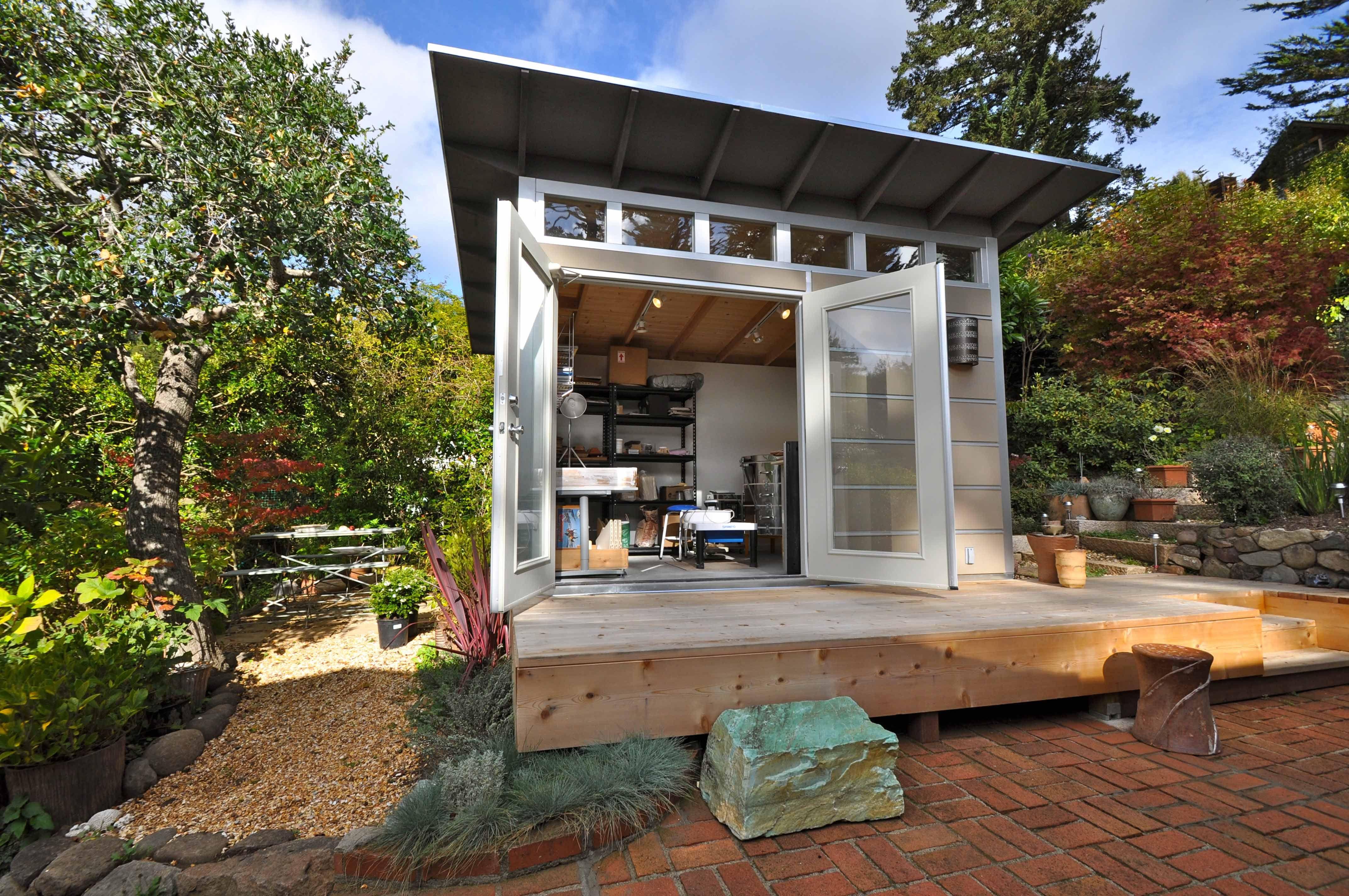 studio shed photos modern prefab backyard studios home office