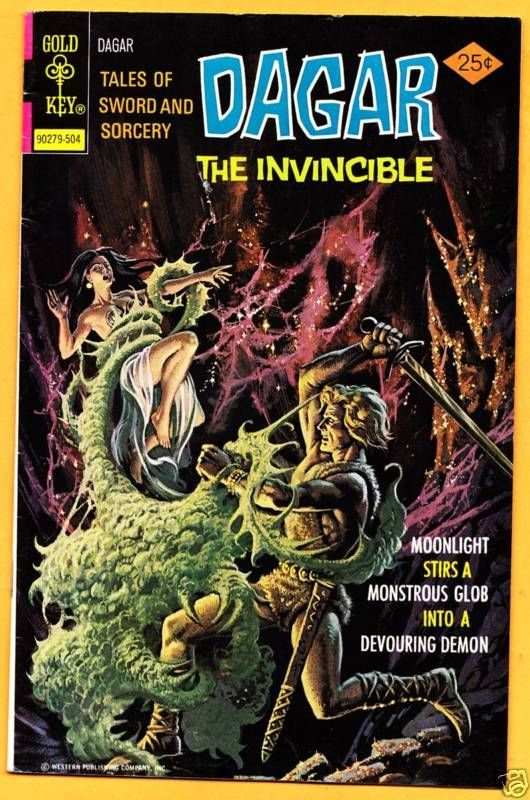 DAGAR THE INVINCIBLE #11  * Gold Key