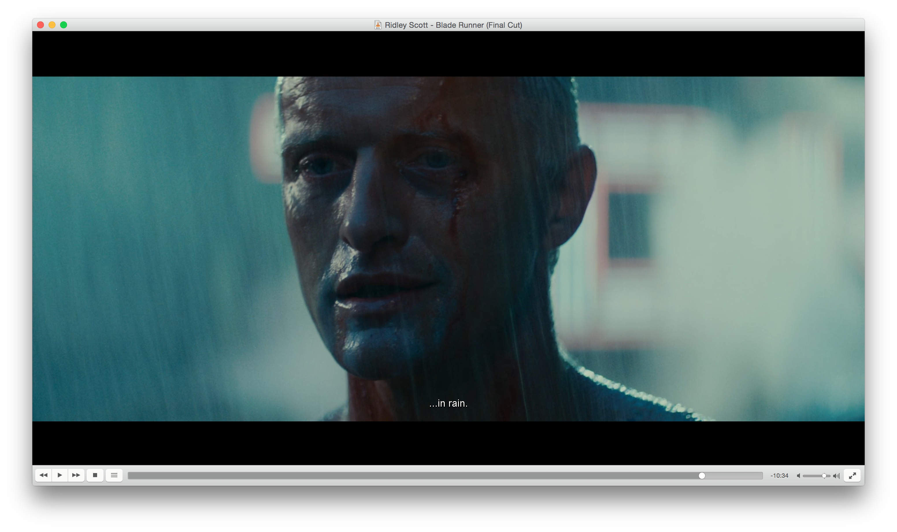 Blade Runner By Ridley Scott Cinematography Jordan Cronenweth Blade Runner Rutger Hauer Blade Runner Wallpaper