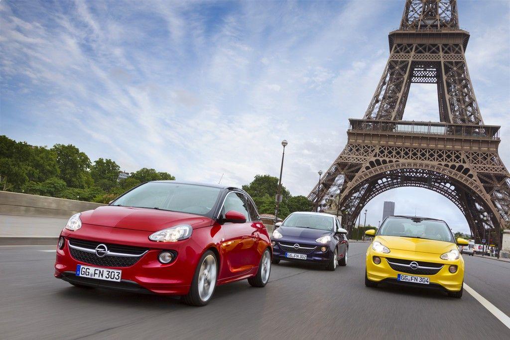 Opel Adam - Paris
