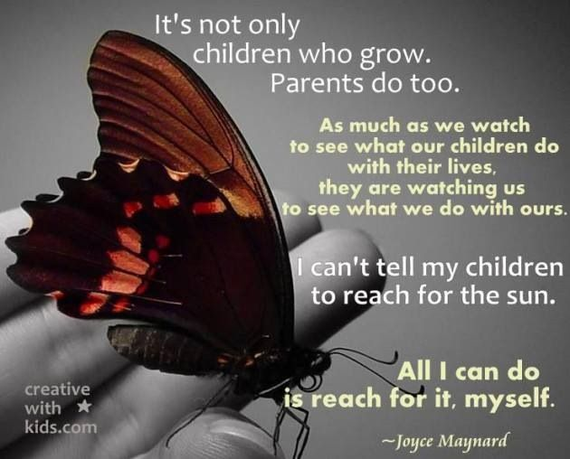 Parents are growing & changing too