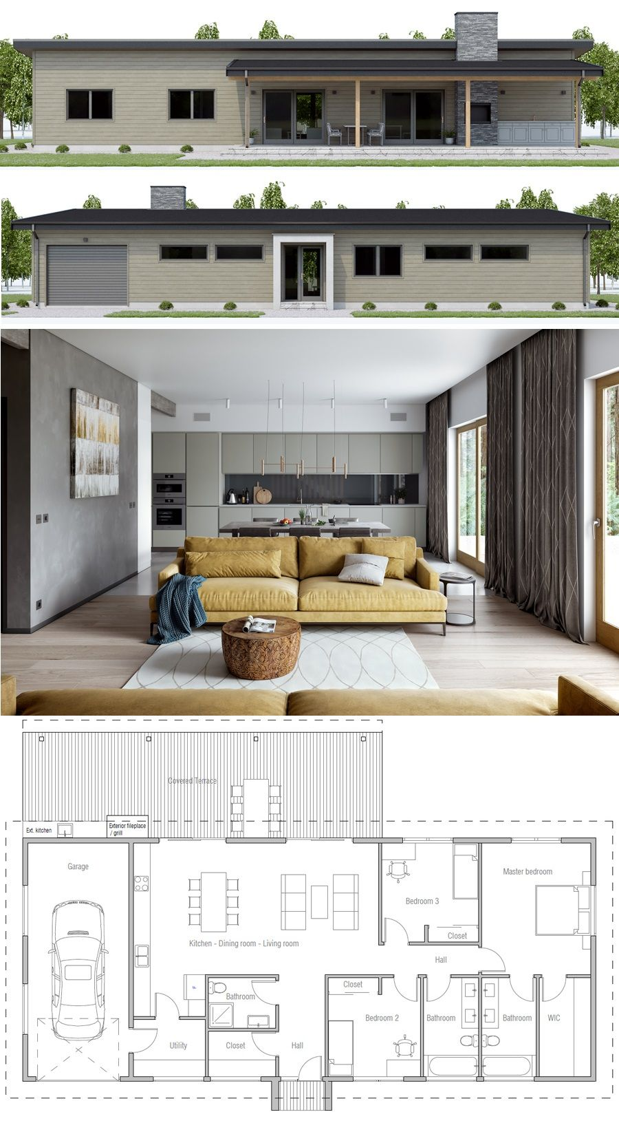Small house plans houses homes smallhouse newhome adhouseplans also rh pinterest