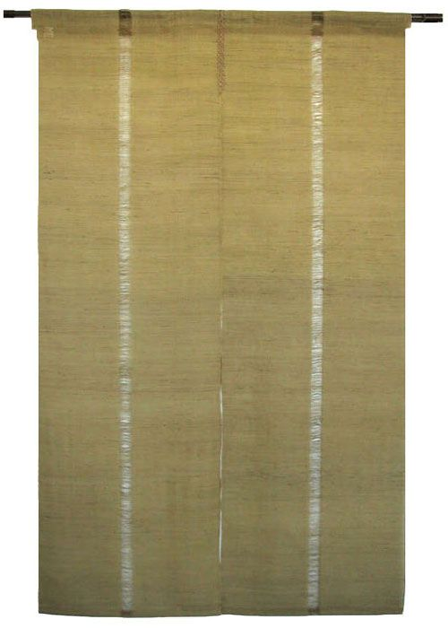 Nice Image Detail For  Japanese Noren Curtain   Linen   Iono Textile   Deep Green