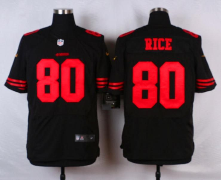 brand new 3c41e 0c8f5 Men 80 Jerry Rice Jersey Football San Francisco 49ers Jersey ...