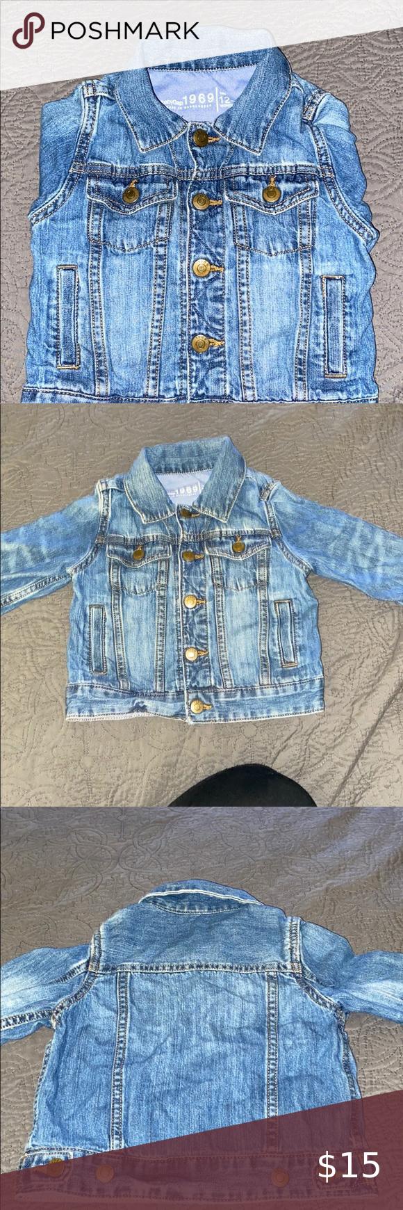 Baby Gap Denim Jacket This Pre Owned Soft Jean Jacket Has Plenty Of Life Left In It No Rips Tears Or Holes In The Ja Gap Denim Jacket Gap Denim Denim Jacket [ 1740 x 580 Pixel ]