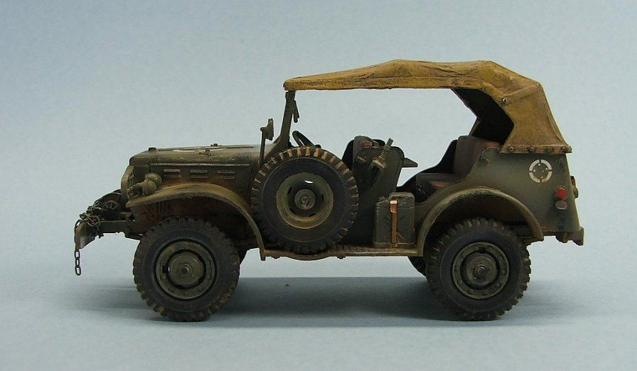 TRACK-LINK / Gallery / WC-57 Command Car - Brazilian Expeditionary Force