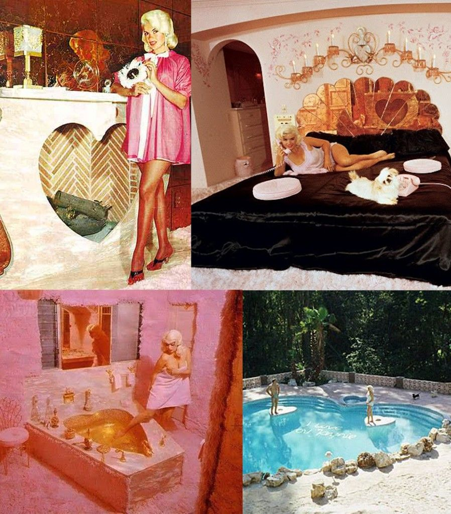 Pin By Nikki On Dream Home: Jayne Mansfield's Barbie Dream House....