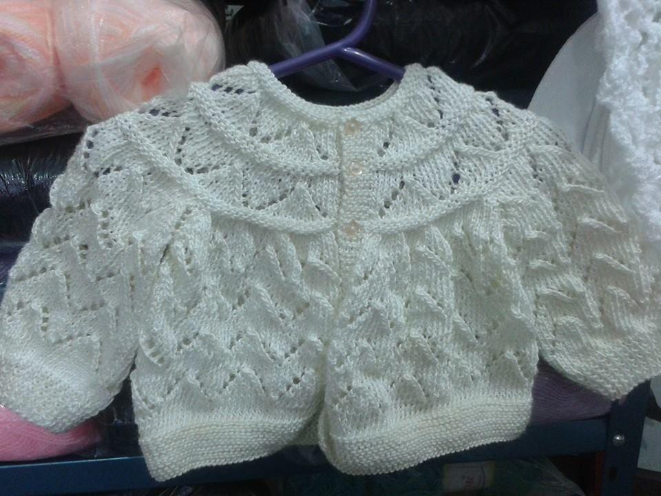 chambrita para bebe recién nacido en dos agujas... | Bebek örgüleri ...