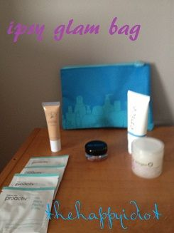 Subscription Boxes: Ipsy Glam #IPSY #REVIEW #BEAUTY  thehappyidiot.wordpress.com