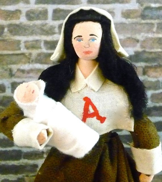 hesters side of the story in the scarlet letter by nathaniel hawthorne 2013-8-15 nathaniel hawthorne's the scarlet letter dramatizes the religious  [hawthorne] on her side or is  works may be found in the imaginative conservative.